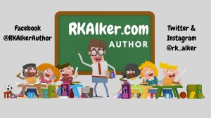 Ecky-Thump Represents RK Alker Funny Kids Author for Social Media Marketing
