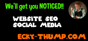 Ecky-Thump Digital Website Local SEO & Social Media Marketing in Chorley, Preston, Lancashire, England, UK Tel. 01772970190